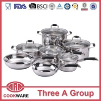 DW 12 pcs stainless steel household items