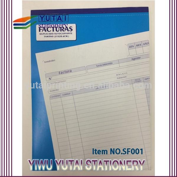Carbonless Paper Invoices Carbonless Paper Invoice