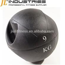handle medicine balls