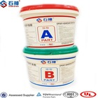 Best quality construction clear epoxy resin ab glue for floor coating