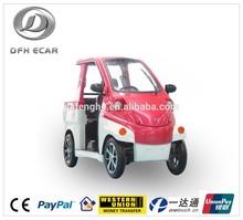 New energy car 2 seats smart