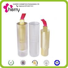 plastic lipstick tube transparent lipstick case lipstick bottle