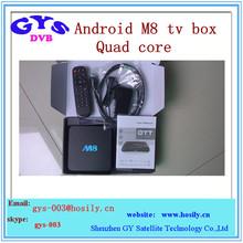 amlogic s802 M8 android ip tv box 2gb 8gb ram quad core iptv box support 4k movie