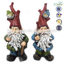2015 spring decoration resin gnome garden elf