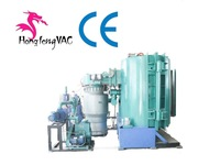 PVD Coating Equipment For Metalizing Plastic/vacuum evaporation metallizing plant