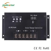 Solar system Output voltage 12v to 60v auto PWM 12V ce solar controller