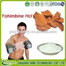 100% natural , medicine and food grade yohimbine hcl 98 extract / yohimbine hcl powder