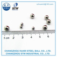 0.7mm 0.8mm 1.0mm aisi420 steel ball fro ball-joint pens