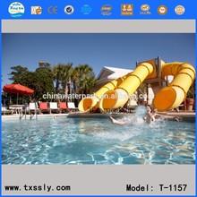 Classic design aqua slide,thrilling & exciting fiber glass aqua slide