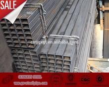 Quality assured hollow rectangular steel tube from china/black rectangular tube/ support rectangular tube