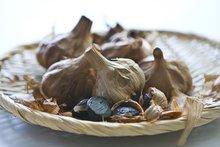 professional fermented black garlic,12 bulbs of bags