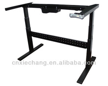 T feet electric adjustable height standing desk/table