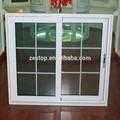 de correr de alumínio branco grades janelas cores