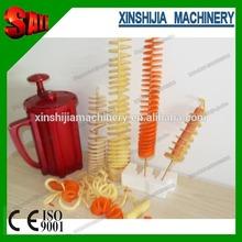 Home best love manual spiral potato cutter machine(skype:xinshijia.jessica)