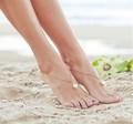 Infinito de la boda hechos a mano esclavo pulsera para el tobillo, Barefoot sandalia accesorio venta al por mayor