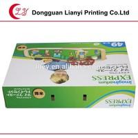 Toy train paper box