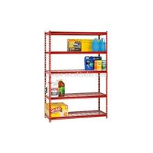 Customized metal steel home storage Z-beam shelving rack