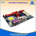 G41 socket 775 placa base soporte pci p4/ddr3