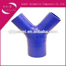 high performance Y type silicone hose/ T-branch pipe for car parts
