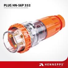 China supplier european industrial 3 pin power plug 32 amp
