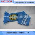 proveedor de oro de china de la mano de la moda de tejer la bufanda