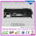 Para HP 05A, para HP Cartucho de tóner CE505A para LaserJet P2035 / 2035n / P2055d / 2055dn