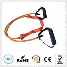 High quality latex resistance exercise ropes with foam handle