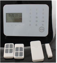 Support APP & Android Touch Keypad Wireless GSM Alarm System