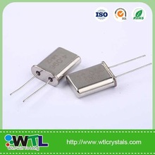 HC-49/U brazilian quartz crystal oscillator connection