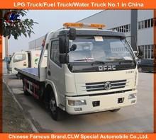 4*2 Dongfeng Wrecker Trucks 6Wheel Dongfeng wrecker tow trucks Heavy Duty Dongfeng wrecker tow trucks for sale