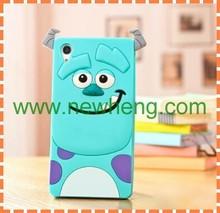 New Designed Sulley silicone case cover for Sony Xperia z3