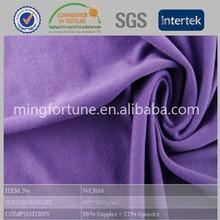 nylon lycra knitted gym wear/shiny swimwear lycra fabric