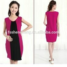 BK131 2015 summer China supplier wholesale middle aged women fashion dress