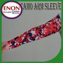 2015 Digital Camo Compression Sports Arm Sleeve Moisture Wicking softball, baseball ,cycling sleeve