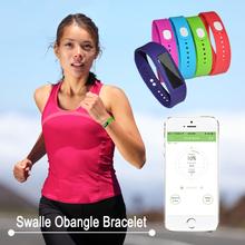 Swalle Obangle bluetooth bracelet smart bracelet pedometer exercise recorder