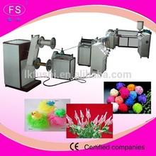 garlic packing net making machine/pp vegetable packing net bag extruder/bath sponge net production line