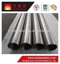 ASTM B861 ASTM B862 titanium pipe/tube