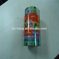 Metalizado de plástico enlaces de cine para embalaje de alimentos de aperitivos