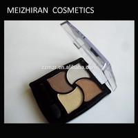 MZR Best selling 4 colors eyeshadow pressed powder palette matte color eyeshadow meis cosmetics