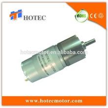 Temps testé diamètre 37 mm gearbox high torque mini puissant moteur à courant continu mélangeur