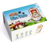 Mini GPS Tracker For Kids Cellphone GPS301 Cute Children Phone GK301 Personal tracker SOS Voice Monitor Google Map Tracking