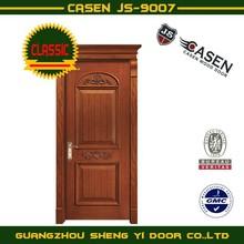 Mahogany carving solid wood door
