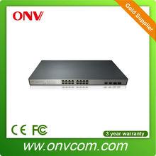 ONV Best wholesale 16 port poe switch gigabit for web camera