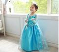 Cosplay Snow Queen bambine Elsa fata vestito gonfio- abito Elsa congelati