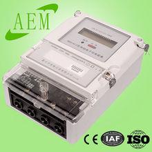 DDS1612 220V single phase din rail watt meter, power quality meter,CE Certificate