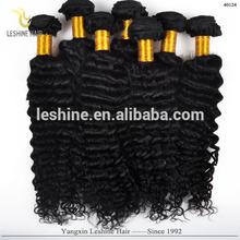 Tangle Free Raw Remy Double Weft 100% human virgin brazilian deep curl