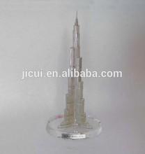Crystal Burj Dubai Burj Khalifa Burj Dubai Tower Crystal gift for home decoration