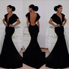 custom made clothing sexy backless evening dress 2015 online shopping CJ-0714 alibaba ebay evening dresses from dubai