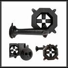 Cast iron Natural gas hob parts gas burner with pan supprort gas grate
