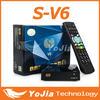 S-V6 Mini Digital Satellite Receiver S V6 with AV2xUSB WEB TV USB Wifi Biss Key S-V6